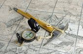 The Ice - Axe And  Compass