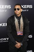 LOS ANGELES - AUG 4: Chris Brown at the World Premiere of Takers, held at the Arclight Cinerama Dome