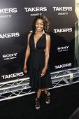 LOS ANGELES - AUG 4: Malinda Williams at the World Premiere of Takers, held at the Arclight Cinerama
