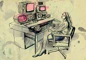 editing room