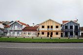 Costa Nova Striped Houses