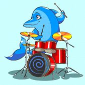 The Dolphin Is The Jazz The Drummer