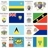 World Flags And Capitals Set 20