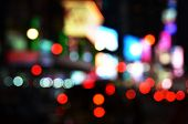 stock photo of orbs  - Big city lights - JPG