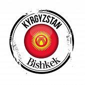 stamp Bishkek