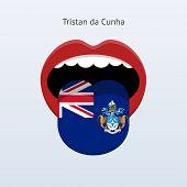 Tristan da Cunha language. Abstract human tongue.