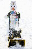 Snow removal - happy snowman snow removal, winter fun