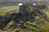 Iceland. South Area. Lakagigar. Volcanic Landscape.