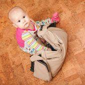 Little Caucasian Baby