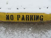 No Parking Curb