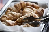 Delicious French Croissants