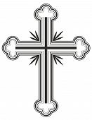 picture of apostolic  - Traditional Armenian Apostolic Church cross Vector illustration - JPG