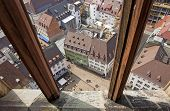 View Of Buildings In Freiburg Im Breisgau City, Germany