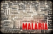 Malaria Disease Concept as a Medical Condition Art