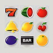Slot Symbols Set 1