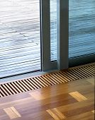 slide doors detail