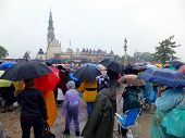 CZESTOCHOWA, POLAND - May 17, 2014: XIX nationwide vigil Renewal in the Holy Spirit before the Jasna