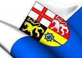 Flag Of Saarpfalz-kreis