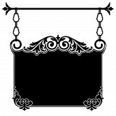 Victorian Hanging Sign