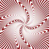 Design Whirlpool Movement Illusion Warped Background