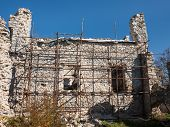 Castle Wall Reconstruction