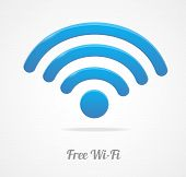 Wireless Network Symbol. wifi icon