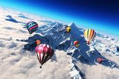 Balloon's soaring