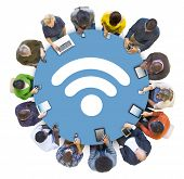 Multi-Ethnic People Social Networking with WIFI Concepts