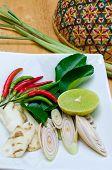 Thai Herb ingredients