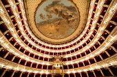 Teatro San Carlo, Naples opera house, Italy