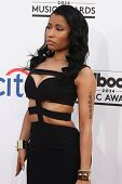 LAS VEGAS - MAY 18:  Nicki Minaj at the 2014 Billboard Awards at MGM Grand Garden Arena on May 18, 2