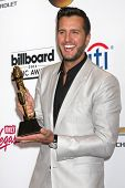 LAS VEGAS - MAY 18:  Luke Bryan at the 2014 Billboard Awards at MGM Grand Garden Arena on May 18, 20