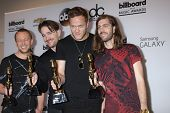 LAS VEGAS - MAY 18:  Imagine Dragons at the 2014 Billboard Awards at MGM Grand Garden Arena on May 1