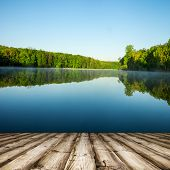masonry wood textured backgrounds  on the lake and forest backgrounds