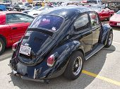 Black Vw Beetle