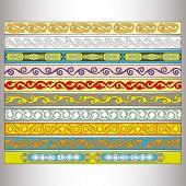 ribbon motif Tatars