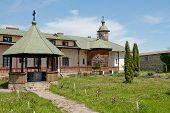 foto of suceava  - Slatioara Monastery in Bucovina - JPG