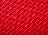 Red Placemat, texture surface diagonal  top view