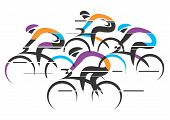 Cyclists Racers