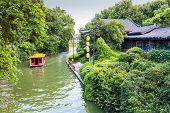 Cruise Boat In Nanjing Qinhuai River