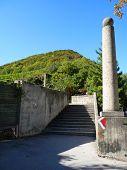 "Obelisk at the ""Leopoldsberg"