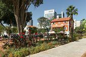 Sarona shopping complex in Tel Aviv