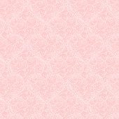 seamless pattern with hearts made of red rose