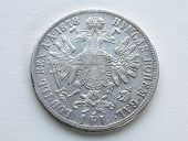 Old silver coins, Austria - Hungary