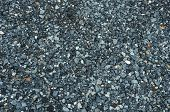 Texture Of Black Granite Gravel