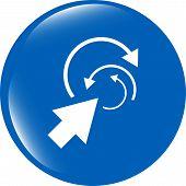 Abstract Arrow Sign Icon. Arrows Symbol. Icon For App. Web Button