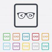 Coder sign icon. Programmer symbol.