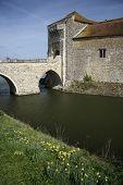 Leeds Castle Moat Kent