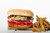 Chicken Burger, Healthy Burger