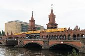 Overbaum Bridge In Berlin